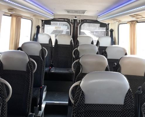 minibus -14 - inside - 1
